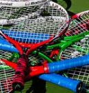 What kind of tennis racket makes one a good tennis player